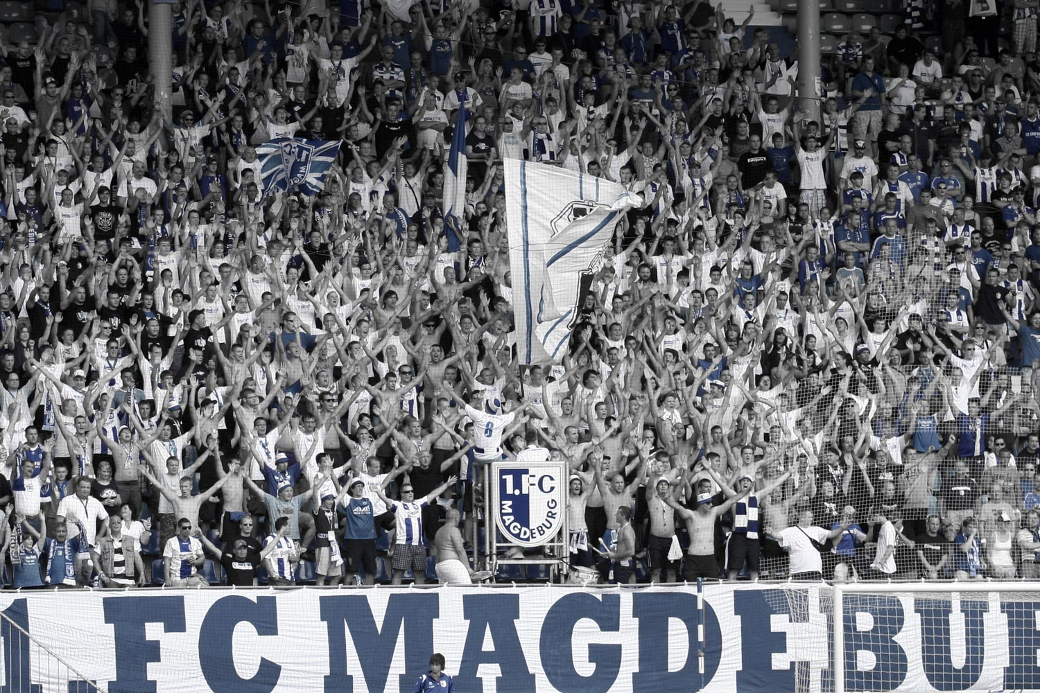 blue generation - ultras 1.fc magdeburg
